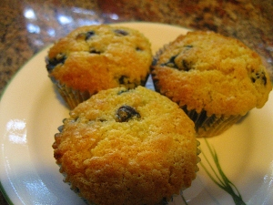 Julia Child's Blueberry Muffins